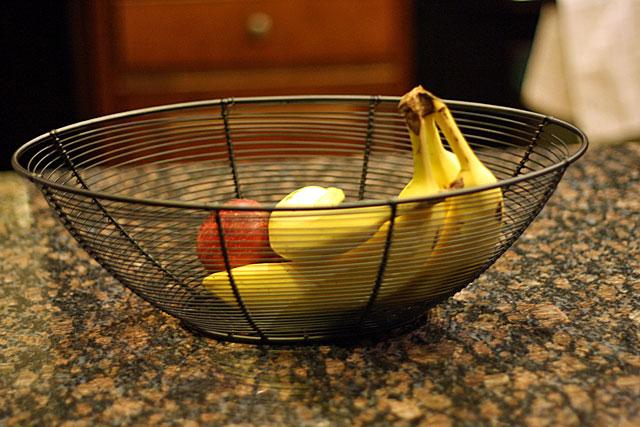 new fruit bowl