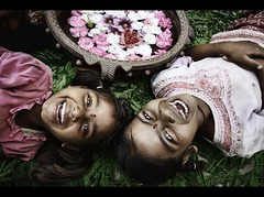 A Happy Girl is the future of our country (rAmmoRRison) Tags: india smile children ruralindia rammorrison savethegirlchild familygetty2010
