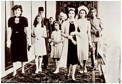 HRH Princess Fawzia Brought to Iran By Her Mother Queen Nazli & Sisters as well as Prince Mohammad Reza Pahlawi In 1939 (Tulipe Noire) Tags: 1930s princess egypt middleeast persia visit queen egyptian tehran nazli 1939 fazia fawzia