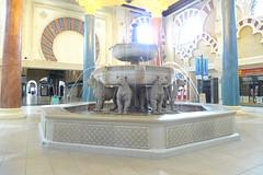 ibn battuta (AlBargan) Tags: fountain lumix dubai panasonic 2009 ibn battuta lx3 dmclx3