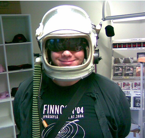 Jarmo goes to space