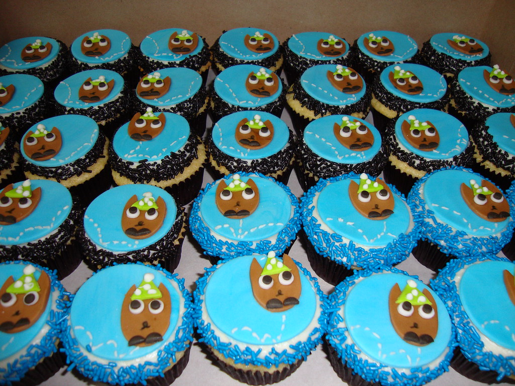 Vanilla cakes bouncing on bbc 4