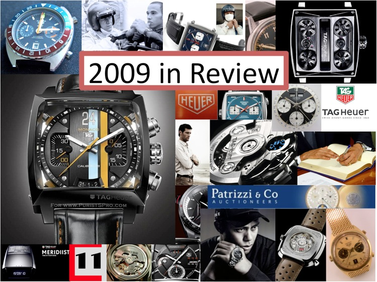 2009: The Tag Heuer And Heuer Year In Review