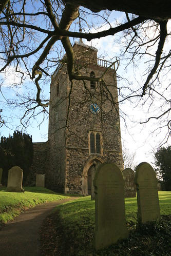 The Parish Church of St Mary the Blessed Virgin, Woodnesborough, Kent