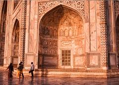 Taj Mahal .. monument dedicated to love