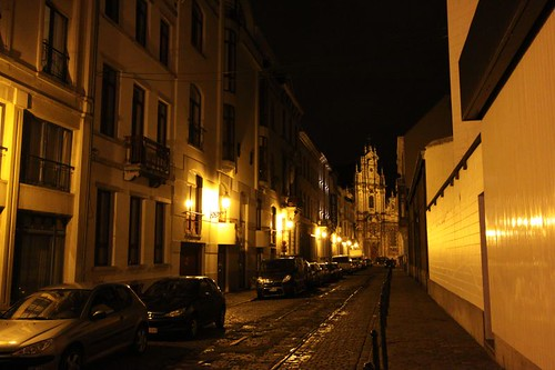 Night Street, Brussels