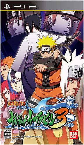 naruto shippuden:ultimate ninja heroes 3