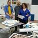 Mack McFarland and co-curators Dara Greenwald and Josh MacPhee