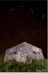 Insomnia (James R. Clark) Tags: night stars sleep insomnia felixstowe startrails
