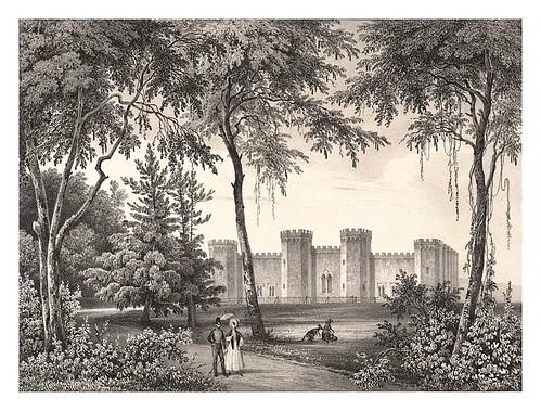 002-Vista de los jardines de la Gobernacion en Sidney-Journal de la navigation autour du globe… 1837-Barón de Bouganville-fuente BOTANICUS