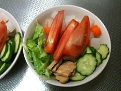 朝食サラダ(2011/6/4)
