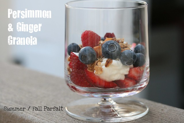 Persimmon and Ginger Granola