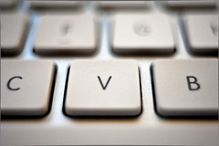 """Keys"" - 161/365 (Nelson Vargas Photo) Tags: apple computer keyboard imac letters nikond700 nikon35mmf25seriese"