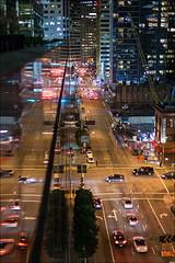 Fremont and Howard (LifeLover4) Tags: night sanfrancisco street ef50mmf14usm stickneydesign city california traffic construction crane reflections downtown fremont howard offramp lifelover4 hughstickney