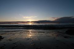 Un tramonto sul mare... (lafranci) Tags: winter sea italy sun beach italia tramonto mare horizon wideangle tokina tuscany toscana sole grandangolo 2009 orizzonte wideanglelens wintersea follonica 1116 maredinverno tokina1116 lafrancy