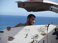 Coach (fraggy) Tags: water sport coach spain wasser jan fuerteventura surfing 2009 spanien lehrer wellenreiten lapared surfen waveguru