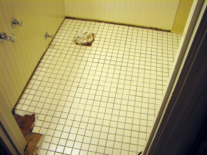 new tile floor 1