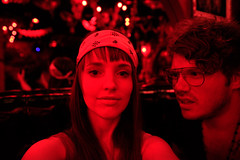 Lemon & Shef (laurenlemon) Tags: california red party vacation bar drunk la losangeles drink nightlife drank chachas canoneos5dmarkii bryansheffield laurenrandolph laurenlemon