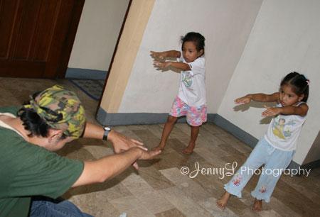 Jai Ho Dance Rehearsal