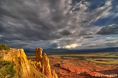 Ghost Ranch, Abiquiu, NM (Spencer Foto) Tags: summer news color landscape interestingness fantastic nikon hiking contest hike tokina explore views winner 400views mesa breathtaking ghostranch msnbccom explored justclouds winningphoto