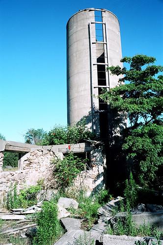Old Barn Silo