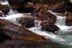 Listen Closely (Nwbama) Tags: longexposure nature water rocks whitewater tennessee greatsmokymountainsnationalpark greenbrier nwbama steveminor