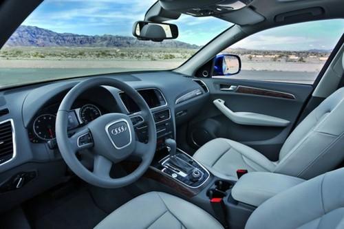 Audi Q5 2010 Interior. 2010 Audi Q5 interior