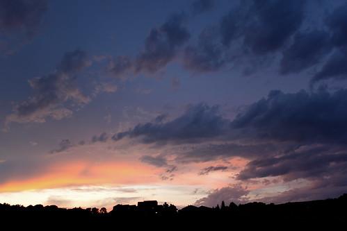Coucher de soleil à Collioure (66