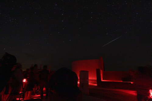 ISS Pass over McDonald Visitor Center