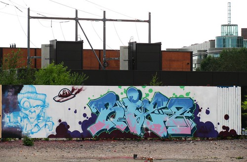 Graffiti wall in Suvilahti