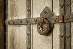 handle (liz&jeff) Tags: door wood old wales architecture handle rust ruin tinternabbey patonphotography