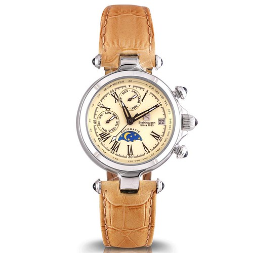 Ladies Marquise Automatic Watch (TW691)