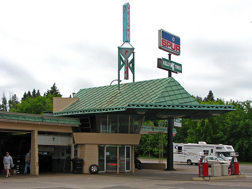 Frank Lloyd Wright Gas Station