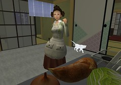 A usual housewife 04 (Raizo Karas) Tags: avatar sl secondlife catnip miu littlebird totalbetty raizokaras japanesehousewife