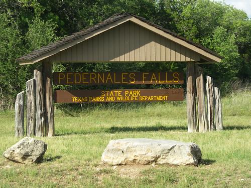 Pedernales Falls State Park Entrance
