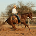 Royal Caliche Red stopping with James OBrien