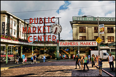 seattle pike place market (Dan Anderson (dead camera, RIP)) Tags: seattle public washington place farmers market center wa pike theperfectphotographer