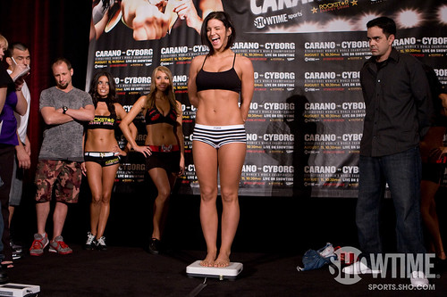 Carano weigh in picture