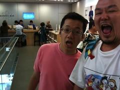 iPhone 3GS_090815 表参道篠山紀信