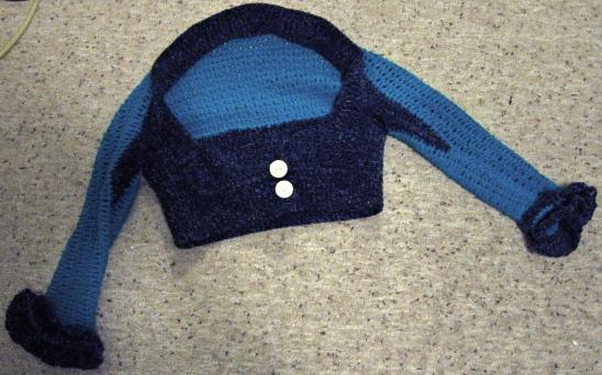 Crochet Shrug 1: Full View