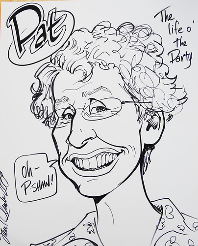 Caricature of Pat