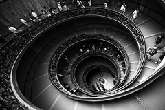 vatican's stairs (sylvain.landry) Tags: trip travel family sky italy vatican france rome art nature photoshop canon wow studio eos vacances photo reflex interestingness interesting lomo europe flickr artist noir shot autoportrait emotion image artistic expression top flash roadtrip route 5d fav dslr top20 holliday reims day17 dragan blanc escalier italie 5star sentiment sylvain strobe landry mkii day173 dlsr detente 5stars photographes day175 bigfav eos5d supershot top20hdr strobist mywinners abigfav interressant remois 5hearts 5dmkii eos5dmkii sylvainlandry flickrstudio