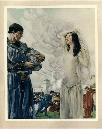 015 -Le morte Darthur 1921- William Russell Flint
