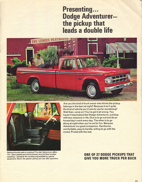 "auto old classic cars hardtop car sedan truck vintage magazine bucket automobile arm muscle antique postcard ad pickup advertisement vehicles seats postcards vehicle dodge rest trucks 1968 chrysler mopar autos collectible product coupe sixties automobiles 68 adventurer classis ""dodge news"" fever"""