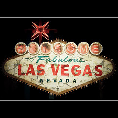 Welcome to fabulous Las Vegas, Nevada (Bright Lights, Vegas Nights) Tags: vegas night canon eos lasvegas textures thestrip lasvegasstrip rebelxs welcometolasvegassign canonefs1855mmf3556is 1000d