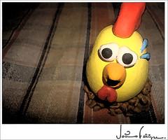 galinha de biscuit (Joo Rebello) Tags: galinha biscuit porcelanafria