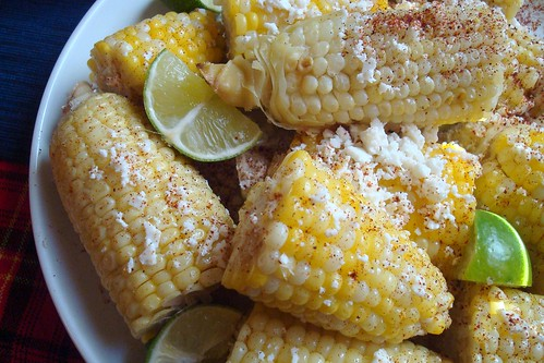 Cuban/Mexian Grilled Corn