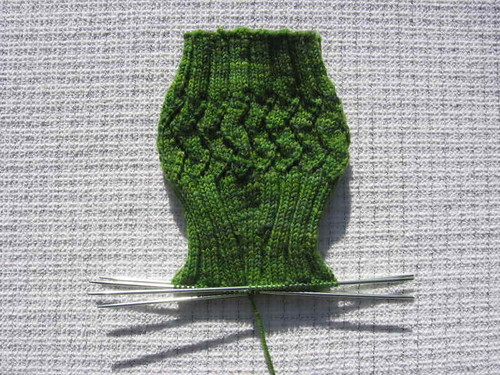Happy Horcrux Socks calf shaping