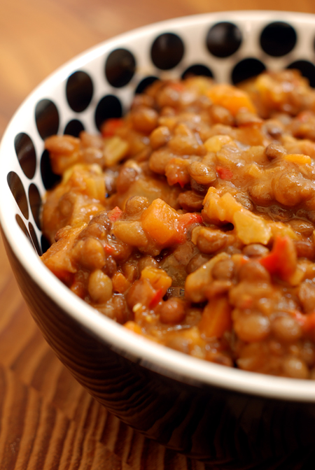 Red Lentil Stew© by Haalo