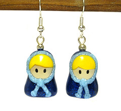 Orecchini Cecilia (OfficineCreative) Tags: dolls handmade polymerclay fimo earrings charms babushka matrioska russiandolls cernit poupe orecchini matryoshkas officinecreative pouperusses
